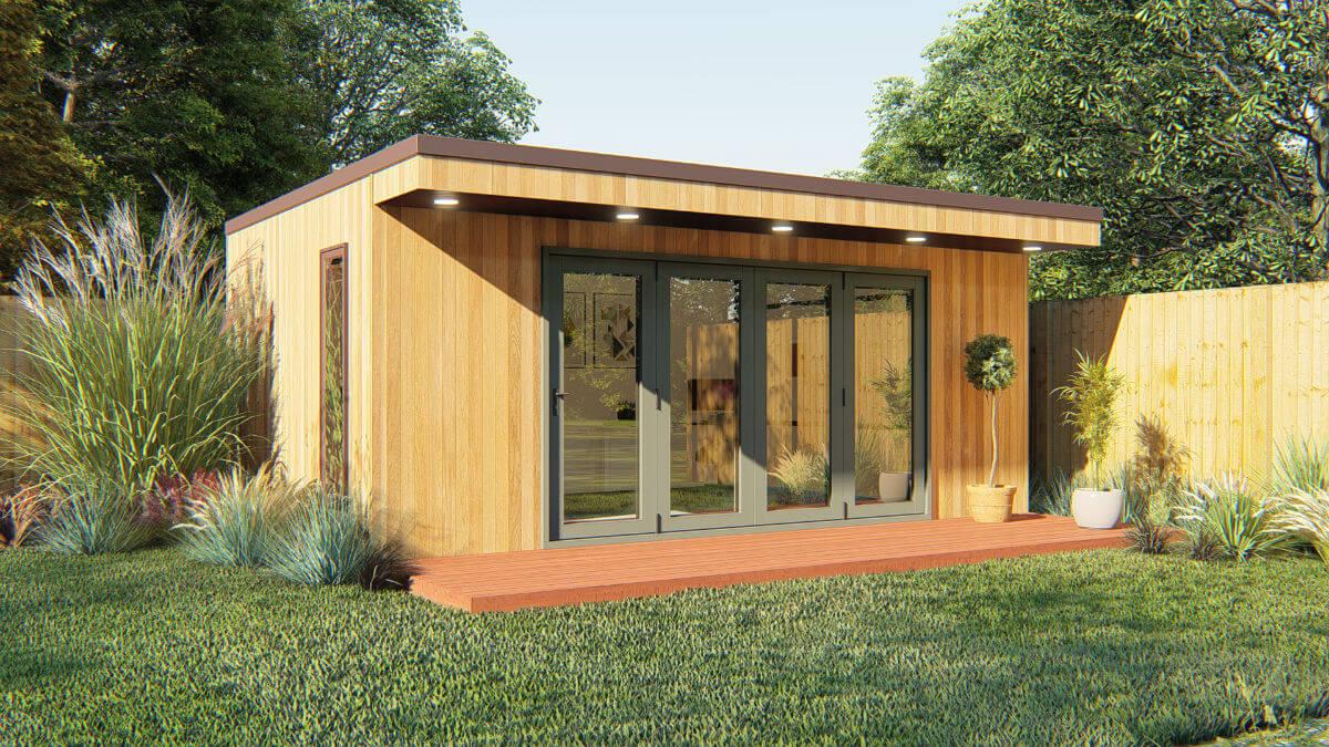Garden Room Classic Panoramic BiFold Doors